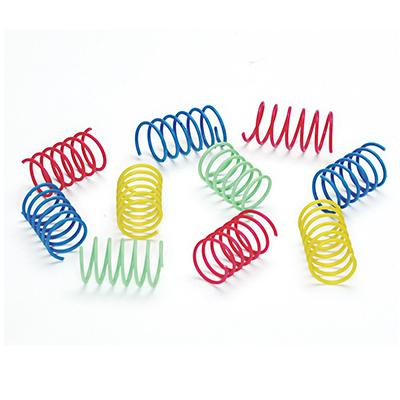 ... cat toys! Ten pack of plastic springs which for some weird reason cats