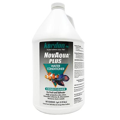 Novaqua Plus Gallon Aquarium Water Conditioner