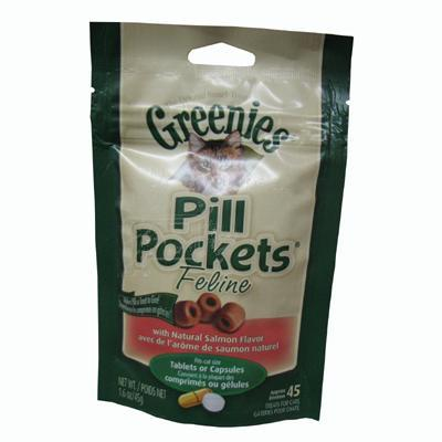 Pill Pockets Cat Salmon 45 Count