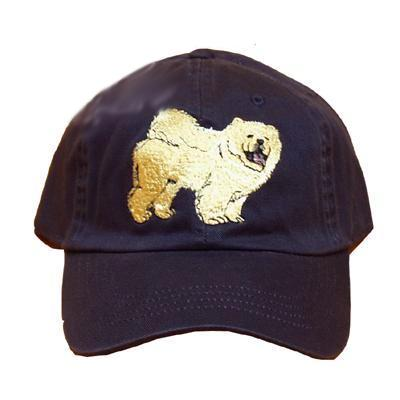 Cap 100% Cotton with Embroidered Chow Chow