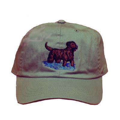 Cap 100% Cotton with Embroidered Chesapeake Retriever