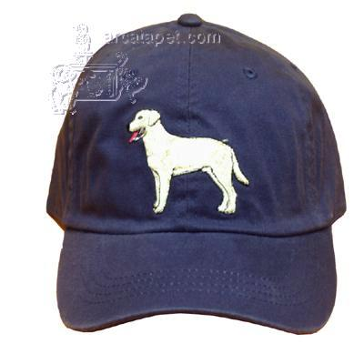 Cap 100% Cotton with Embroidered Labrador Yellow Retriever