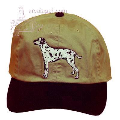 Cap 100% Cotton with Embroidered Dalmatian
