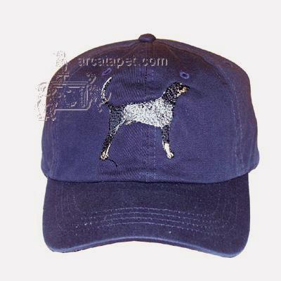 Cap 100% Cotton with Embroidered Blue Tick Hound