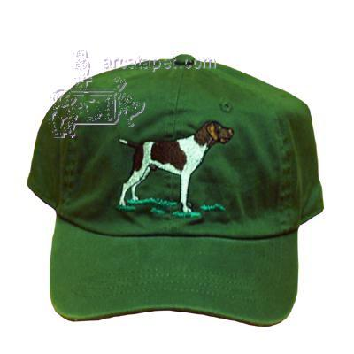Cap 100% Cotton with Embroidered German Shorthair Pointer