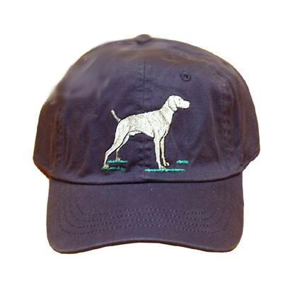 Cap 100% Cotton with Embroidered Weimaraner
