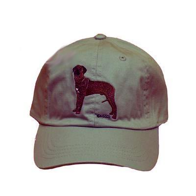 Cap 100% Cotton with Embroidered Rhodesian Ridgeback