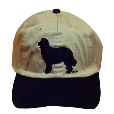 Cap 100% Cotton with Embroidered Newfoundland