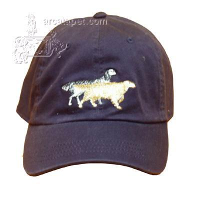 Cap 100% Cotton with Embroidered English Setter
