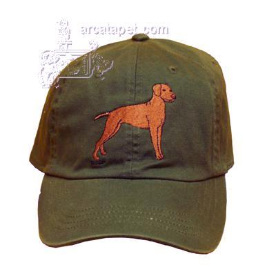 Cap 100% Cotton with Embroidered Vizsla