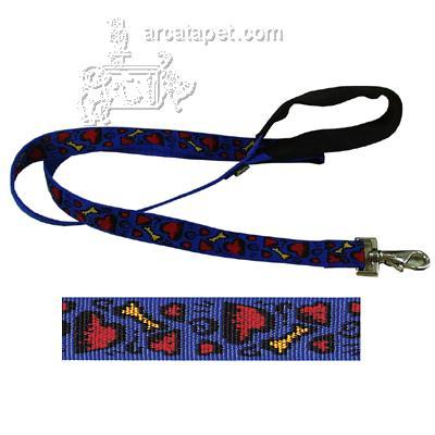 Lupine Nylon Dog Leash 6 foot x 1-inch Doggie Dreams