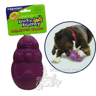 Busy Buddy Squirrel Dude Large Dog Treat Dispenser
