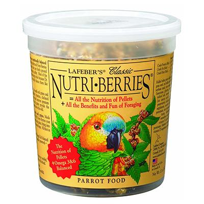 Lafeber NutriBerries Parrot 12 ounce Food