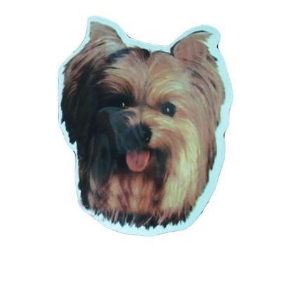 Vinyl Dog Magnet with Yorkshire Terrier Small
