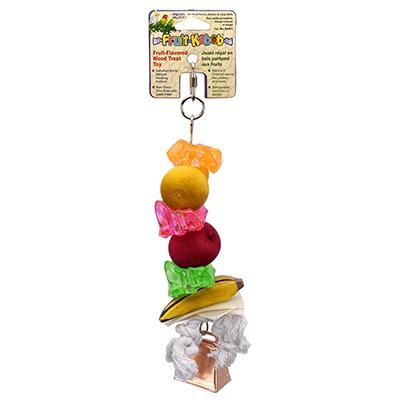 Penn Plax Fruit Kabob Large Bird Toy