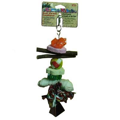 Penn Plax Combo Kabob Large Bird Toy