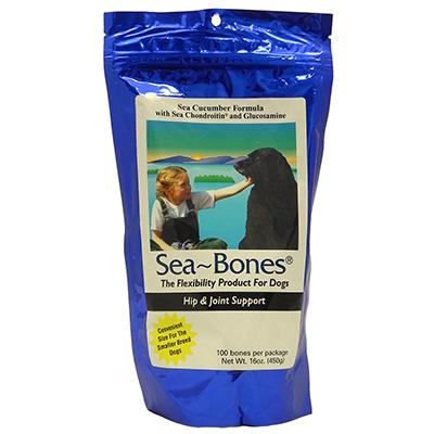 NutriSea Sea Bones 1lb Bag Dog Nutritional Treat