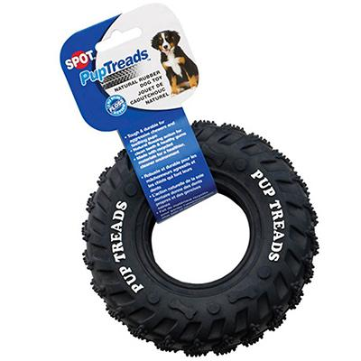 PupTreads Tire Toy Dog Toy 6 inch