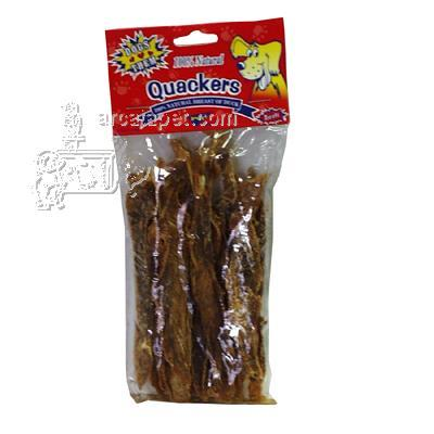 Quackers Duck Breast Fillets 3 oz Dog Treats