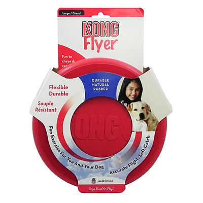 Kong Flyer Flexible Rubber Disc Dog Toy