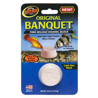 Weekend Aquarium Fish Feeder Original Banquet
