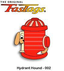 FasTags Hydrant Hound Do-it-yourself Pet ID Tag