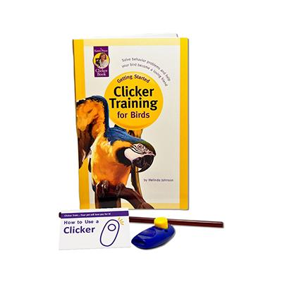 Clicker Fun Kit Training Kit for Birds