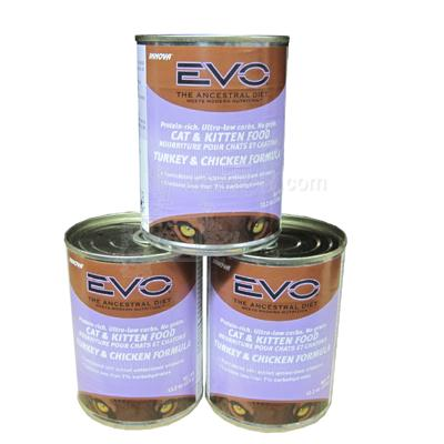 Evo Canned Cat Food Large Case