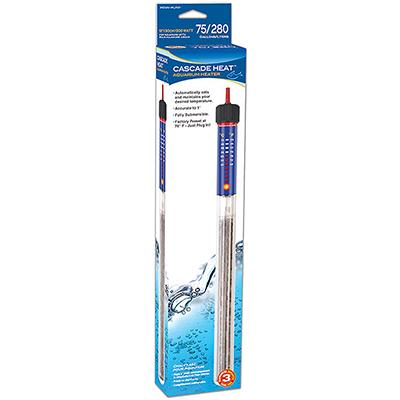 Heater Submersible 13inch 300 Watt up to 75gal/280L Aquarium