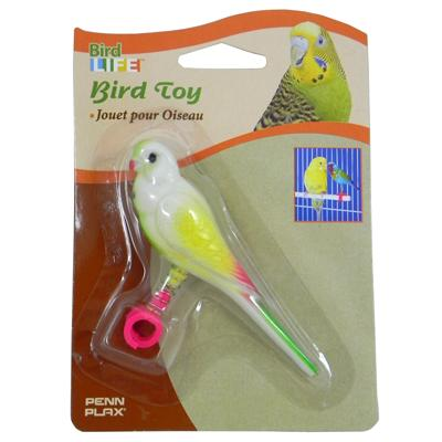 Perch-Mounted Play Bird Toy Small