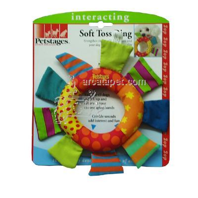 Soft Toss Ring Dog Retrieval Toy