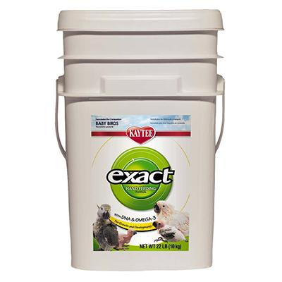 Kaytee Exact Bird Handfeeding Food 22 lb Bucket