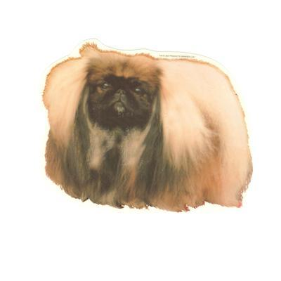 Double Sided Dog Decal Pekingese