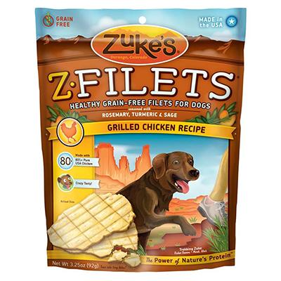 Zuke's Z-Filets Glazed Chicken Dog Treat