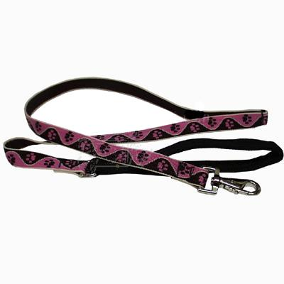 Lupine Dog Leash 6-foot x 3/4-inch Tickled Pink