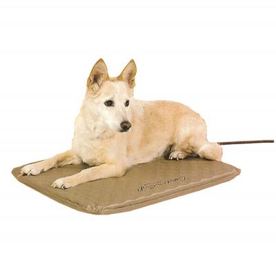 Lectro-Soft Indoor/Outdoor Heated Dog Bed Medium 19x24 inch