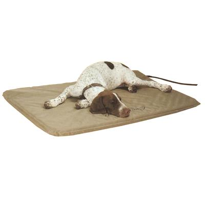 Lectro-Soft Indoor/Outdoor Heated Dog Bed Large 25x36 inches