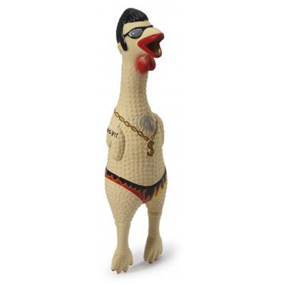 Earl the Rubber Chicken Large Dog Toy