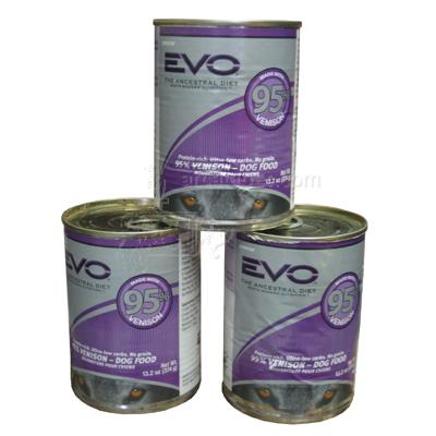 Innova Evo Canned Dog Food Venison Large Case