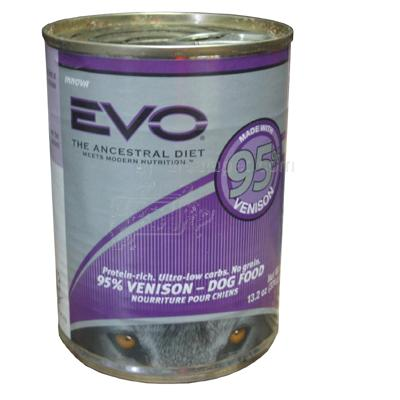 Innova Evo Canned Dog Food Venison Large Each