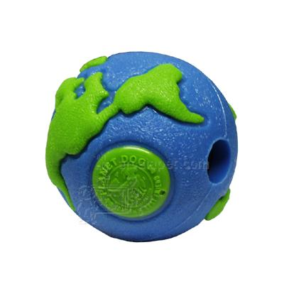 Planet Dog Orbee-Tuff Orbee Small Green/Blue