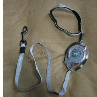Planet Dog Zip Lead Retractable Lead Titanium Small
