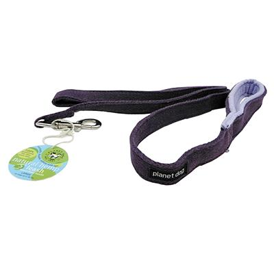 Planet Dog 5 Foot Purple Hemp Leash