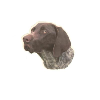 Double Sided Dog Decal German Shorthaired Pointer