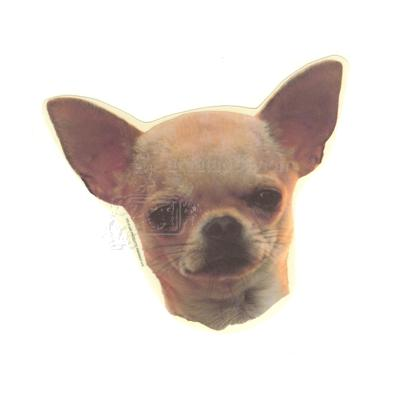 Double Sided Dog Decal Chihuahua