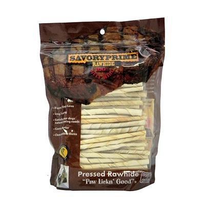 Rawhide Twist 100 Bulk Pack Dog Chew