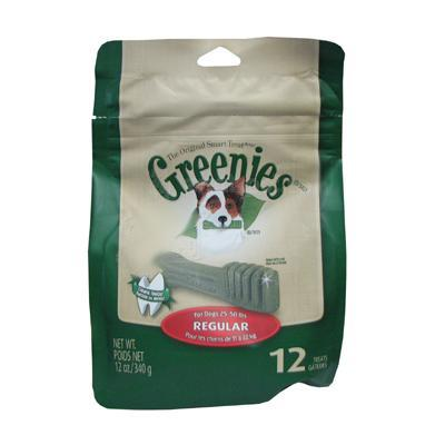 Greenies Regular 12 Pack Dog Dental Treat