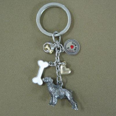 Key Chain Brittany with 5 Charms