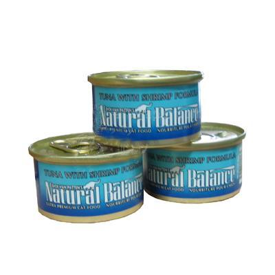 Natural Balance Tuna with Shrimp Case of Canned Cat Food