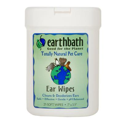 Earthbath Totally Natural Soft Pet Ear Wipes